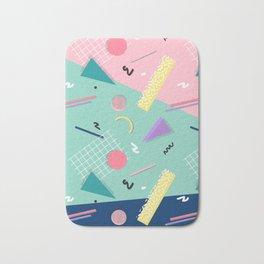 Dreaming 80s Pattern #society6 #decor #buyart Bath Mat