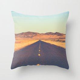 Lost Highway II Throw Pillow