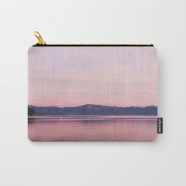 Rose Colored Dream of Lake Tahoe Carry-All Pouch