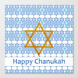 Happy Chanukah! Canvas Print