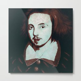 Christopher Marlowe Metal Print