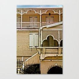 Frederiksted detail, St. Croix, USVI Canvas Print