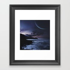 Distant Planets Framed Art Print