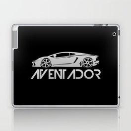 Lamborghini Aventador - silver - Laptop & iPad Skin