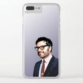 Jemaine Clement 10 Clear iPhone Case