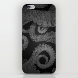 Octopus BW. iPhone Skin