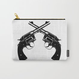 Crossed Revolvers Carry-All Pouch