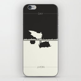Day Versus Night iPhone Skin
