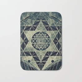 Sacred Geometry for your daily life- SRI YANTRA Bath Mat