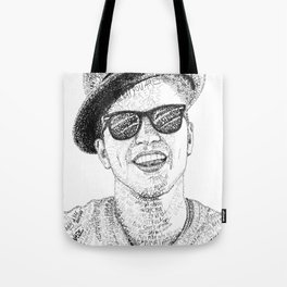 BrunoMars - Word Art Tote Bag