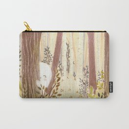 Little ghost in the woods Carry-All Pouch