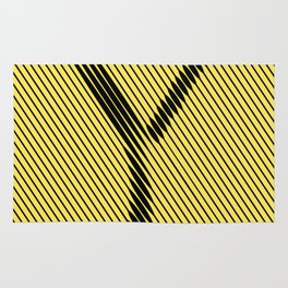 Y from 36 Days of Type   2016 Rug