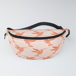 Abstraction_Hummingbird_Minimalism_001 Fanny Pack