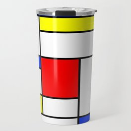 Mondrian2 Travel Mug