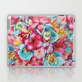 Hawaiian Bouquet Laptop & iPad Skin