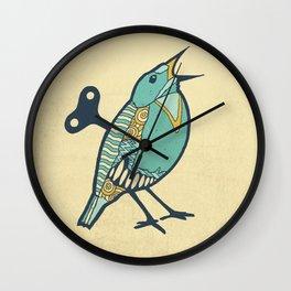 Wind-up Bird Wall Clock