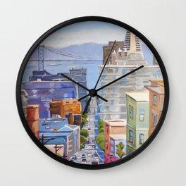 View of San Francisco Wall Clock