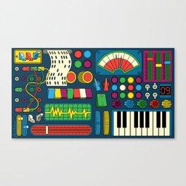Magical Music Machine Canvas Print