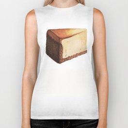 Cheesecake Slice Biker Tank