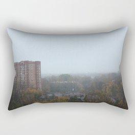 View from a Russian flat Rectangular Pillow
