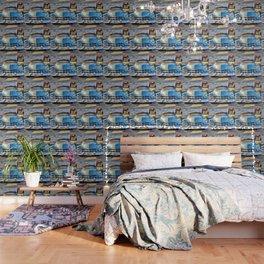 1951 Blue Cadillac Wallpaper