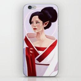 Elf Lady Painting iPhone Skin