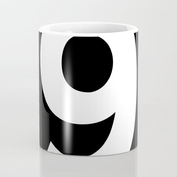 Number 9 (White & Black) Coffee Mug