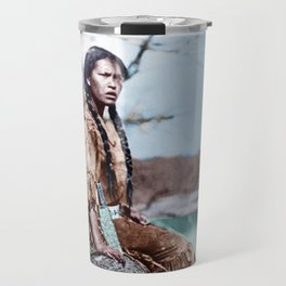Native Girl Travel Mug