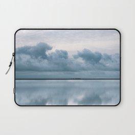 Epic Sky reflection in Iceland - Landscape Photography Laptop Sleeve