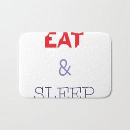 EAT & SLEEP Bath Mat