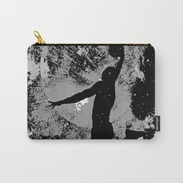 SLAM DUNK IN BLACK AND WHITE Carry-All Pouch