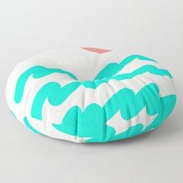 Abstract Landscape 08 Floor Pillow
