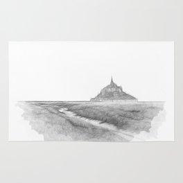 Le Mont-Saint-Michel Rug
