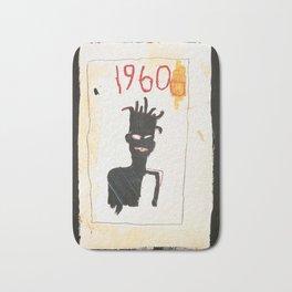 1960 basquiat Bath Mat