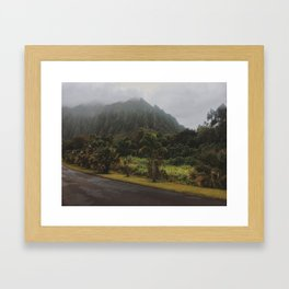 Rustic Mountains Framed Art Print