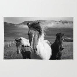 3 Horses Rug