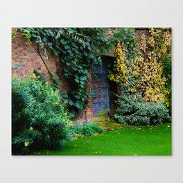 Lewis Carroll's Garden Canvas Print