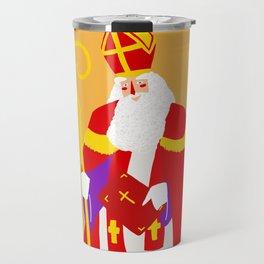 Happy Sinterklaas Travel Mug