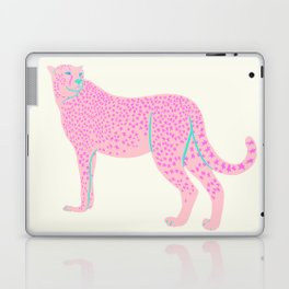 PINK STAR CHEETAH Laptop & iPad Skin