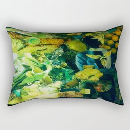 Vida Verde Rectangular Pillow