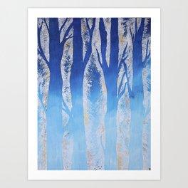 Winter Skye Art Print