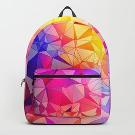 Polygonal Pattern Backpack