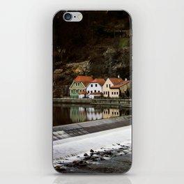 Little Cesky Krumlov Neighbourhood iPhone Skin