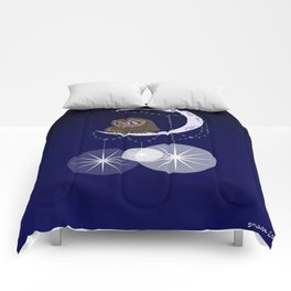 """""""I'd Open Up the Moon for You"""" Comforters"""