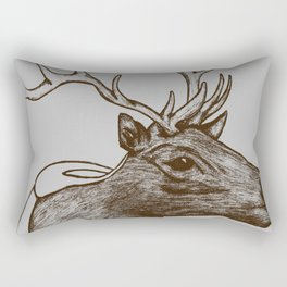 Oh Deer! Rectangular Pillow