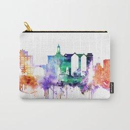San Joce Watercolor Skyline Carry-All Pouch