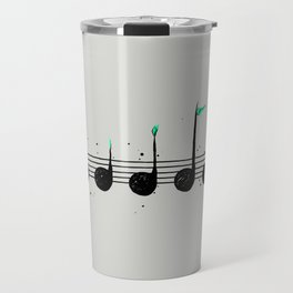 Biosphere Orchestra Gray Travel Mug
