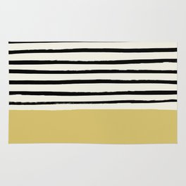 Daffodil Yellow x Stripes Rug