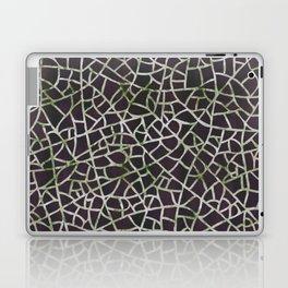 Crackle Magenta Suede Laptop & iPad Skin