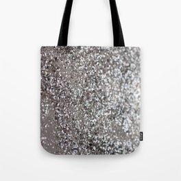 Sparkling SILVER Lady Glitter #1 #decor #art #society6 Tote Bag